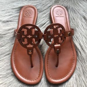 Tory Burch Miller Vintage Brown sandals 8